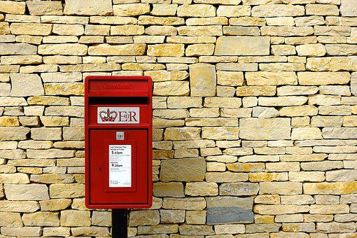 Post-Box, Post, Mail, Box, Wall, Dry