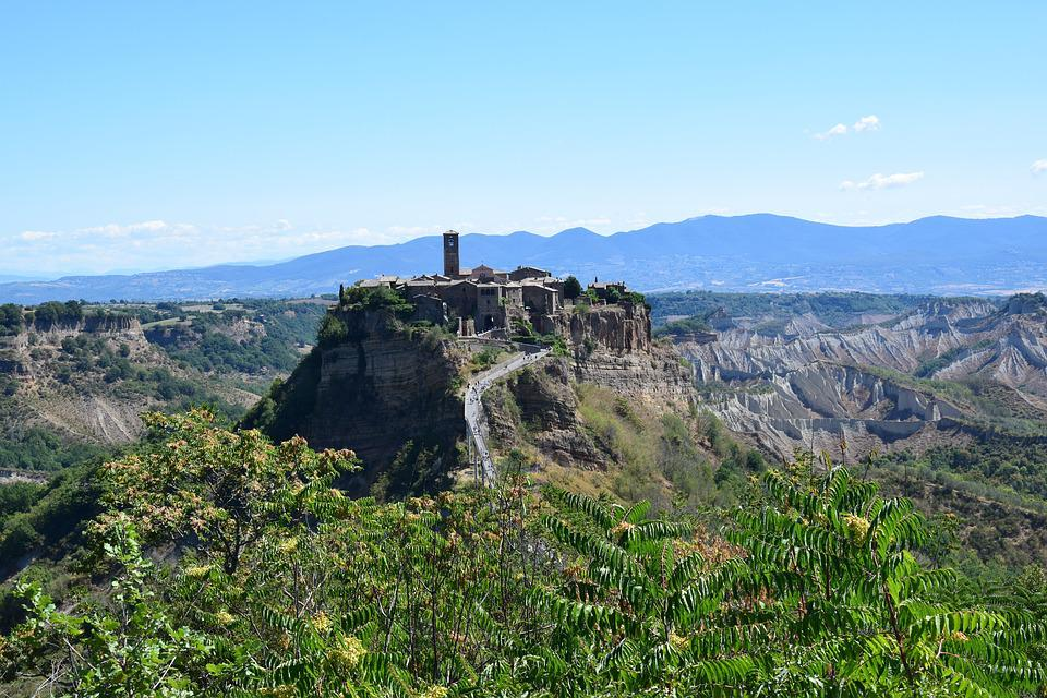 Free photo: Civita Bagnoregio, Lazio, Italy - Free Image on ...
