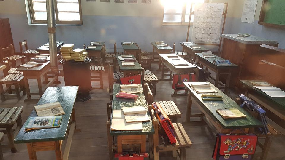 思い出, 小学校, 教室