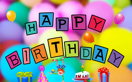Birthday, Happy Birthday, Balloons