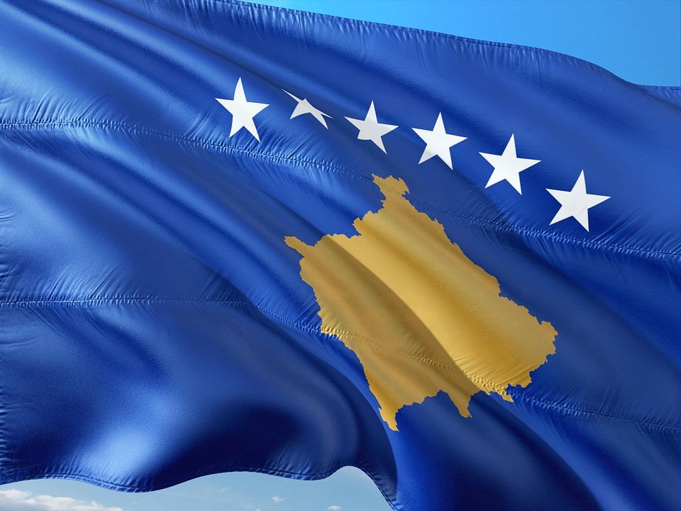 Kosovo, Flagge