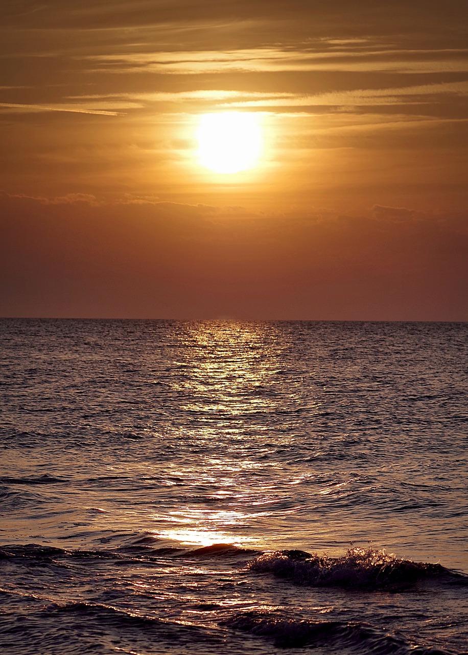 Рассвет на море картинки вертикальные