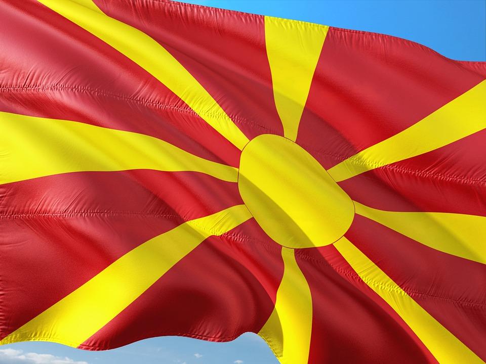 Mazedonien, Flagge
