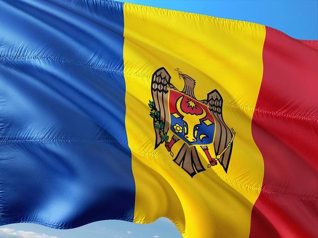 Moldova zászló