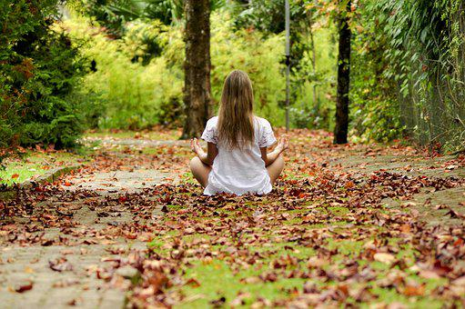Girl, Child, Forest, Child Playing