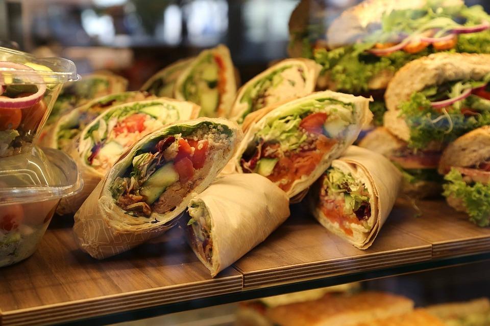 Food Wraps Finger Free Photo On Pixabay
