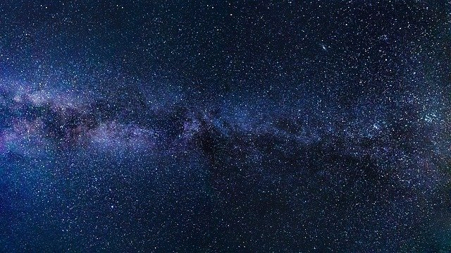 Milky Way Starry u003cbu003eSkyu003c/bu003e Night - Free photo on Pixabay