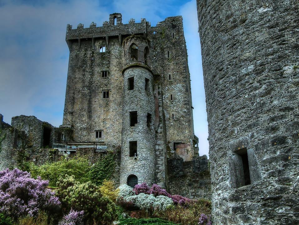 Ruine, Burg, Irland