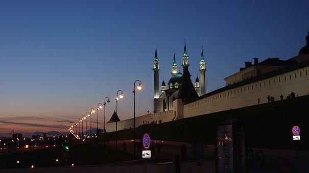 Kazan, Rusia, Qolsharif Mosque, Masjid