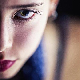 女の子, 肖像画, 人, 目, 唇, 写真撮影, ビュー, 謎, 美少女, 美容