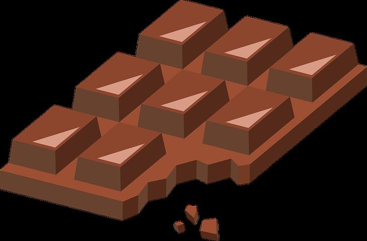 Шоколадки картинки рисунки, вечер