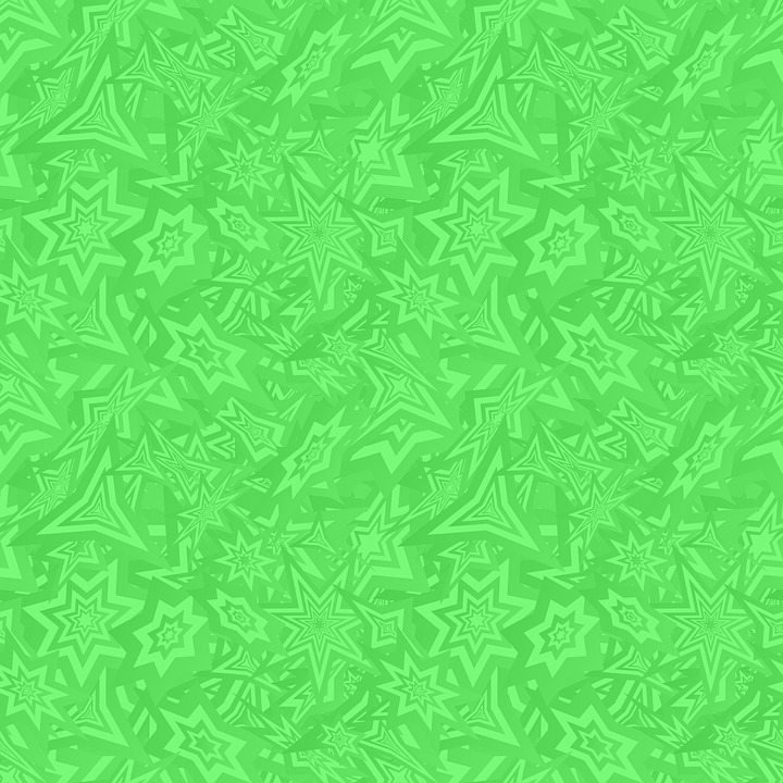 Green Pattern Background Wallpaper Seamless Shapes