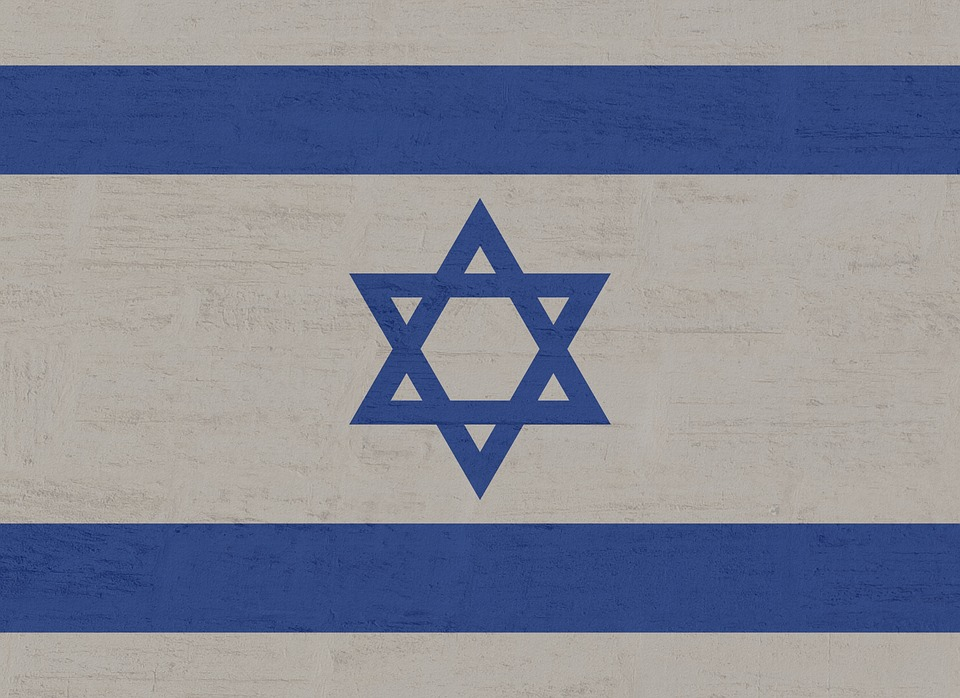 Israel, Flag, Star Of David, Blue