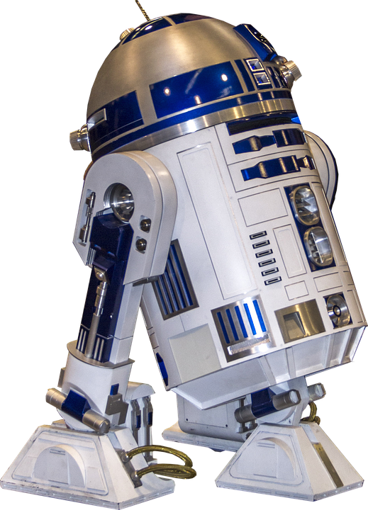 R2d2 robot starwars film free photo on pixabay - Robot blanc star wars ...