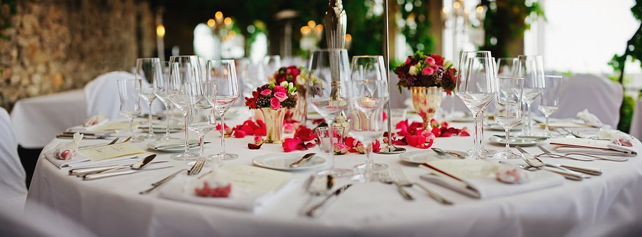 Restaurant, Table Setting, Decoration