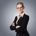 biznes kobieta, professional, narzędzie suit