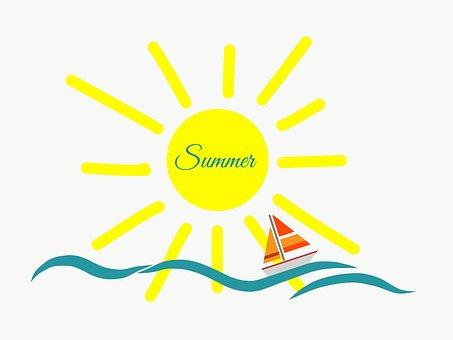 Sommer, Strand, Urlaub, Ferien, Sonne