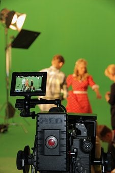 Chromakey, Shooting, Film, Movie, Scene