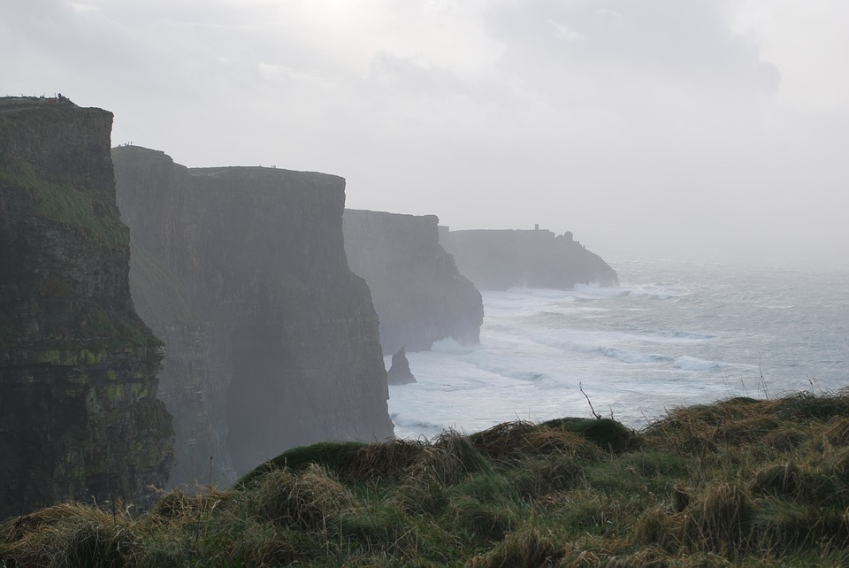 Cliffs Of Moher, Ireland, Moher, Ocean, Clare, Cliffs