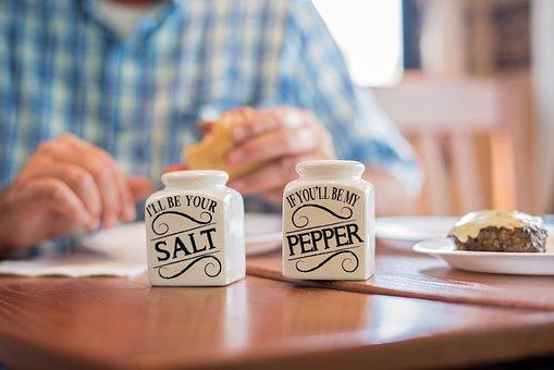 Dinner, Burger, Salt And Pepper, Meal