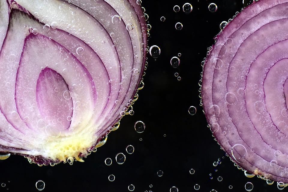 Onion, Red Onion, Raw, Antibacterial, Red, Allium Cepa