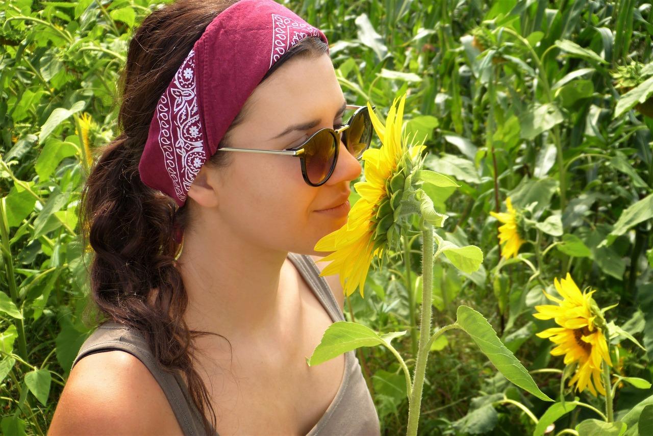 Bandana wear on Head
