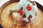 ślub, kwiat, bukiet