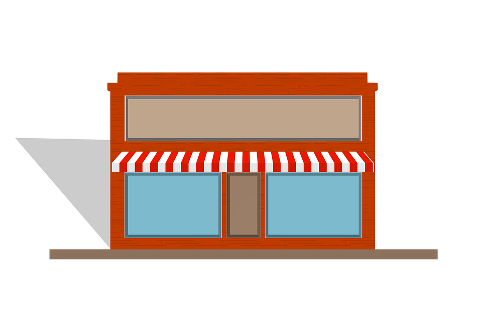 Awning Store Front 183 Free Vector Graphic On Pixabay