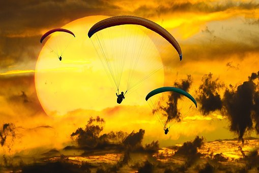 Paragliding, Paragliders, Adventure