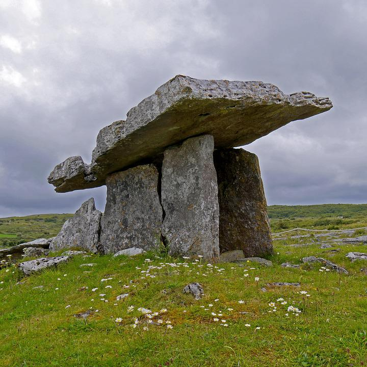 Free Photo Ireland Burren Dolmen Free Image On