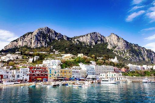 Italien, Capri, Meer, Insel, Reisen