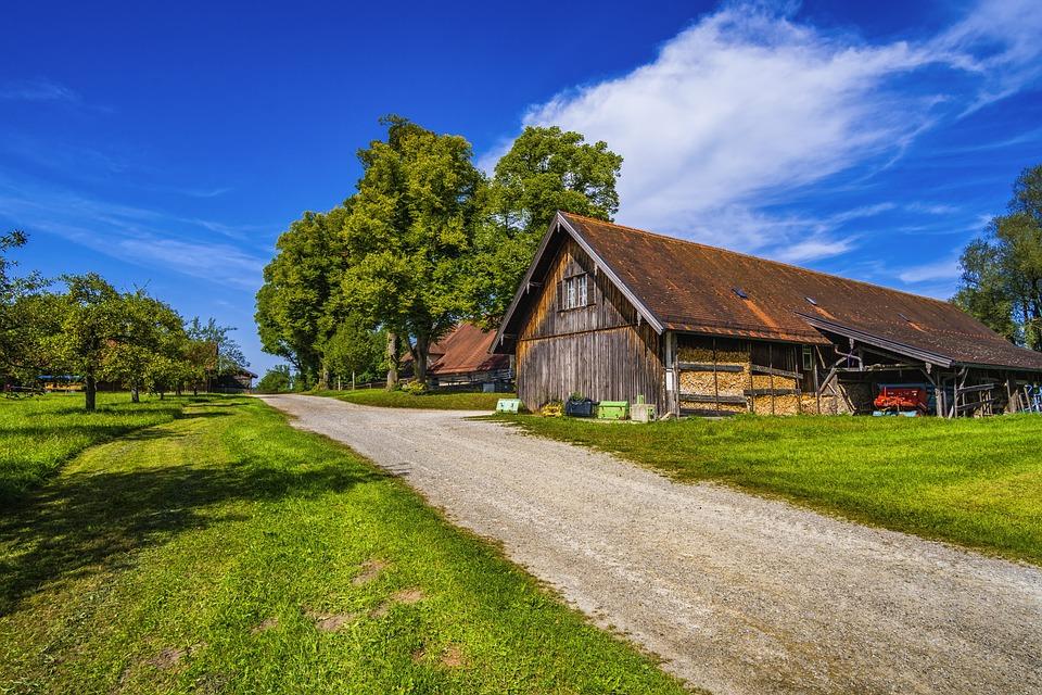 Perfect Farm, Scenic, Bavaria, Landscape, Nature, Meadow