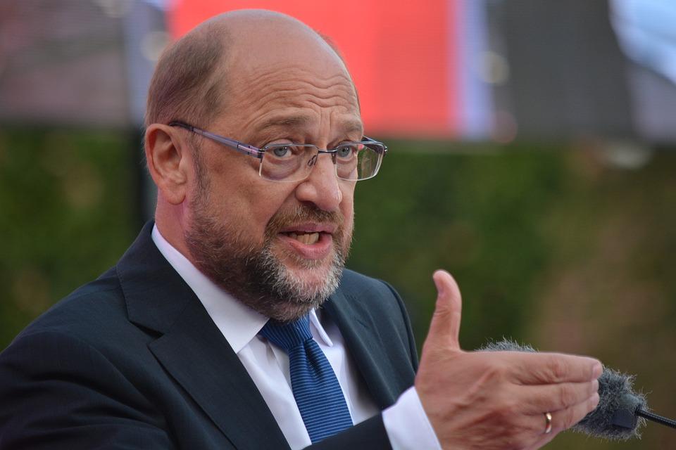 Mann, Martin Schulz, Kanzlerkandidat, Spd, Hamburg