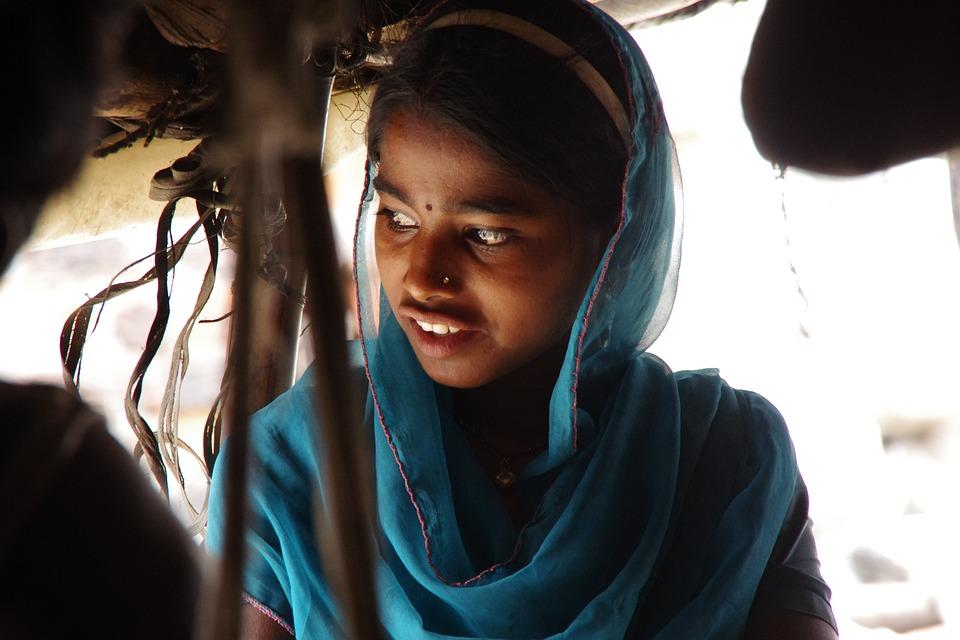 india slum girl indian girl slum portrait female asian india