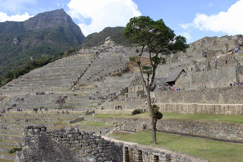 Ruinas, Inca, Perú, Valle, Piedra, Sagrado, Andes