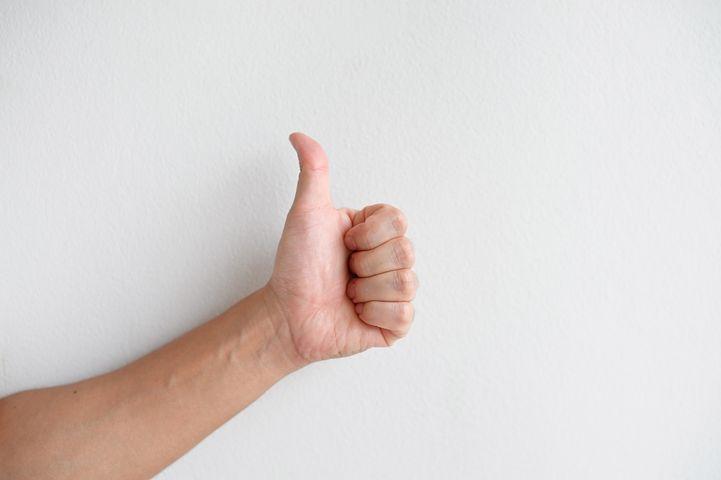 Картинка большого пальца на руке