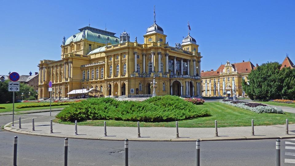 Zagreb croatia national free photo on pixabay zagreb croatia national theater architecture altavistaventures Images