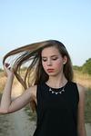 long hair, girl, beauty