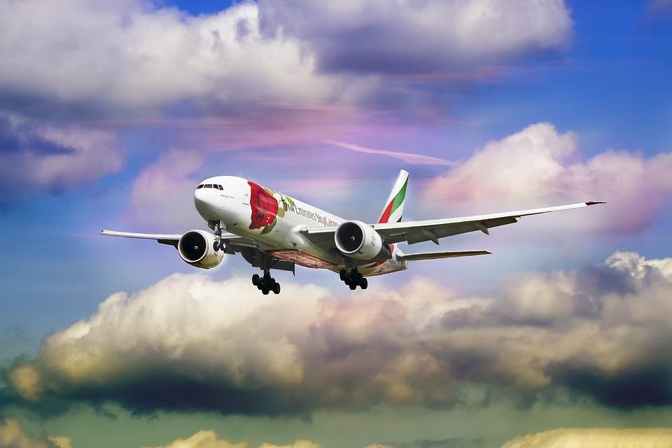 Emirát, Letecké Společnosti, Rose, Letadla, Roviny