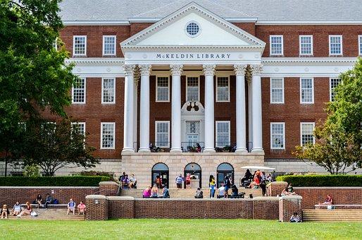 大学, 古い建物, キャンパス