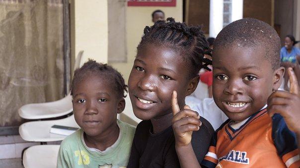 子供, ハイチ, カルフール, ポルトープランス, の孤児院, ママ, 検索