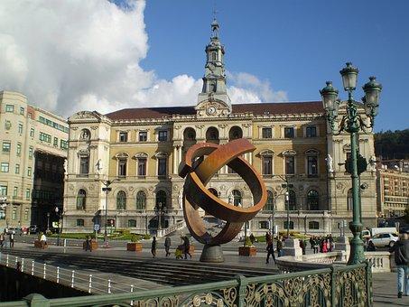 Qué ver qué hacer en Bilbao, Fachada Ayuntamiento de Bilbao