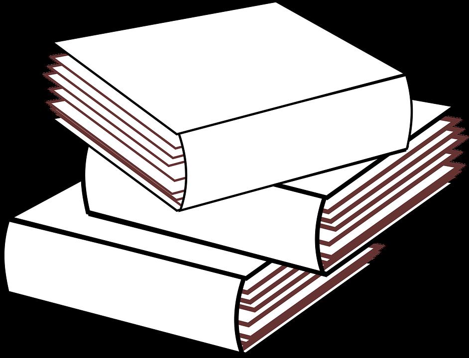 Stacked 3 Bücher Keine Farbe · Kostenloses Bild auf Pixabay