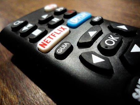 Netflix, Control Remoto, Electrónico
