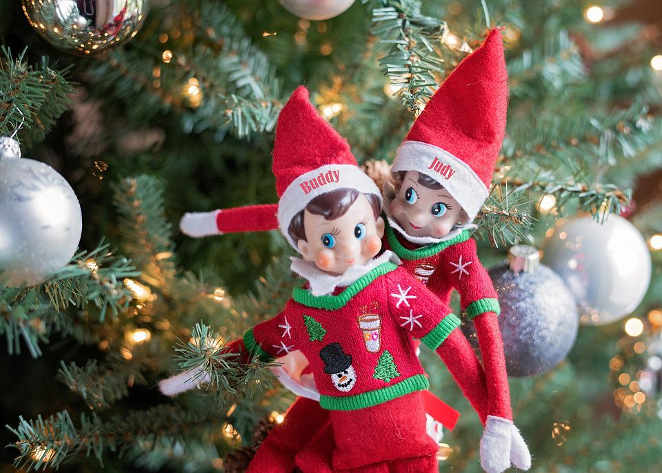 Elf On A Shelf, Christmas, Elf, Winter, Happy