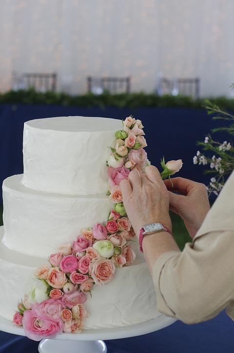 Gâteau De Mariage Fleurs Photo Gratuite Sur Pixabay