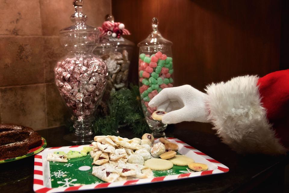 Même le père Noël aime les bonbons