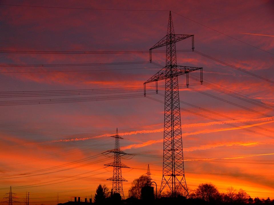 Energía, Torres De Alta Tensión, Strommast