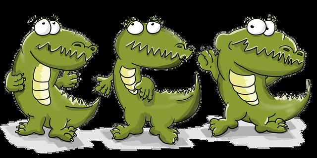 Pixabay - Dessin anime de crocodile ...