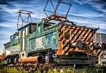 loco, locomotive, electric locomotive